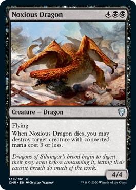 Noxious Dragon Commander Legends Spoilers