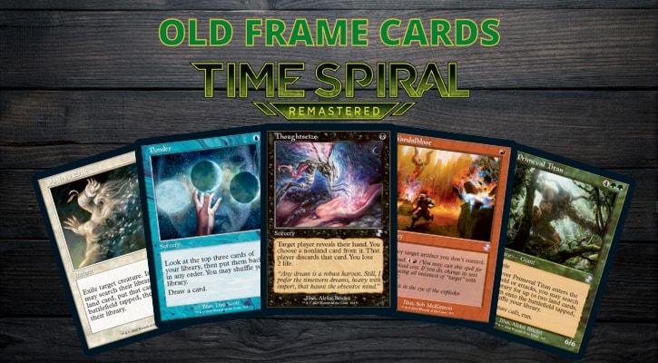 Old Frame MTG Cards Banner