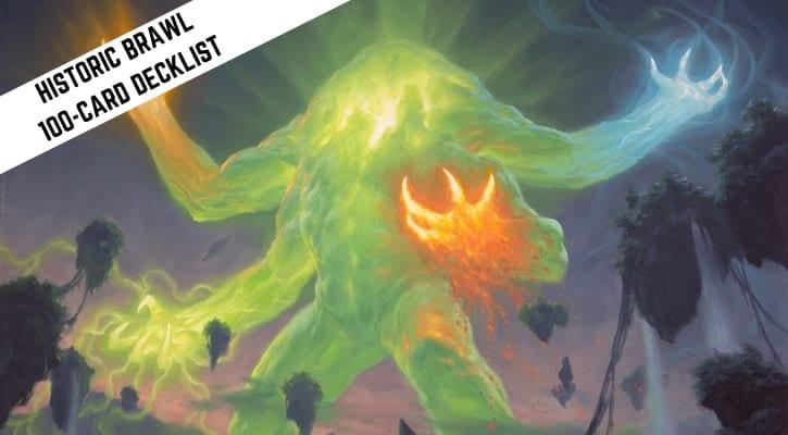 Omnath, Locus of Creation Arena Commander Historic Brawl Decklist