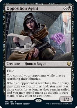 Opposition Agent Commander Legends