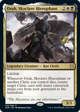 Orah, Skyclave Hierophant Cleric Commander