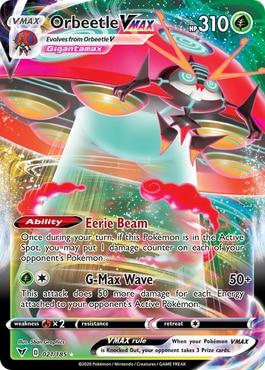 Orbeetle VMAX Top 10 Best Vivid Voltage Cards