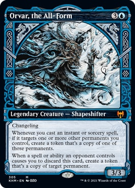 Orvar, the All-Form Kaldheim Viking MTG Cards