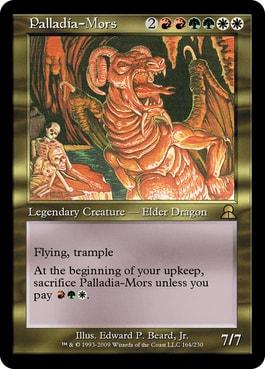 Palladia Mors Commander History