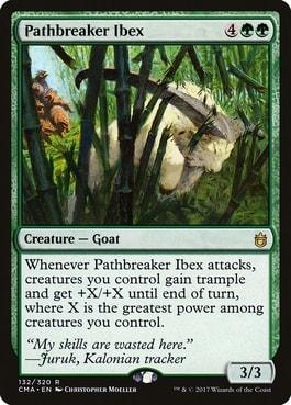 Pathbreaker Ibex Best Commander Staples