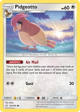Pidgeotto Air Mail