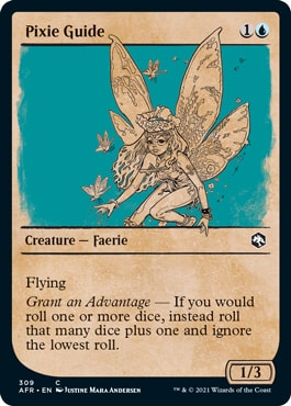 Pixie Guide MTG DND Rulebook Styles