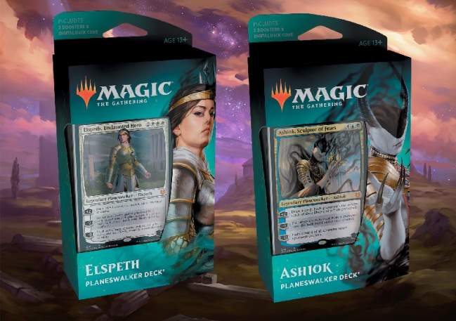 Planeswalker Deck Guide Theros Beyond Death Upgrade Elspeth Ashiok Banner