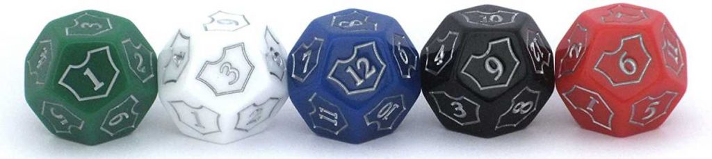 Planeswalker Loyalty Counter Dice