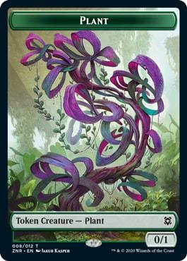 Plant Zendikar Rising Tokens