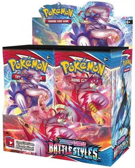 Pokemon TCG Battle Styles Newest Best Pokemon Booster Box