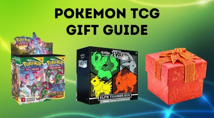 Pokemon TCG Gift Guide 2021 Cards Banner