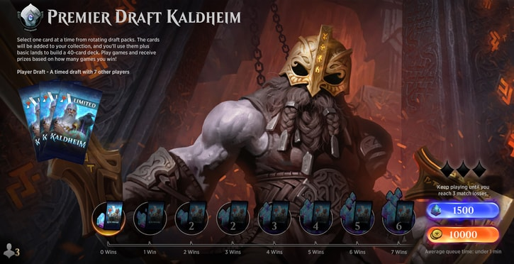 Premier Draft Kaldheim