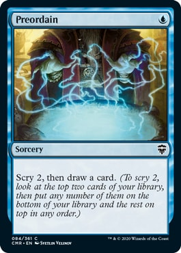 Preordain Commander Legends All Cards