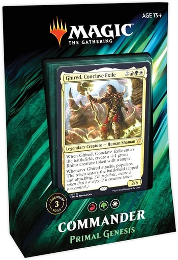 All Commander Precons List Primal Genesis