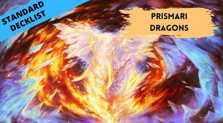 Prismari Dragons Standard Decklist Banner
