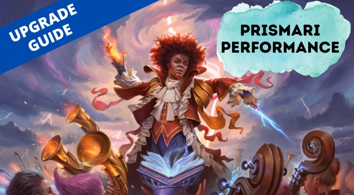 Prismari Performanceor Upgrade Banner