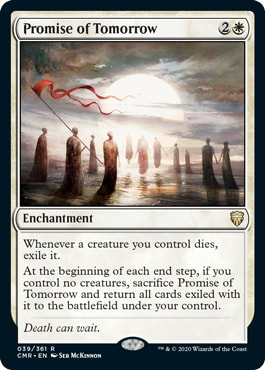 Promise of Tomorrow Commander Legends Spoilers