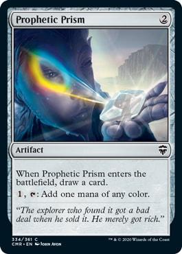 Prophetic Prism Commander Legends Spoilers
