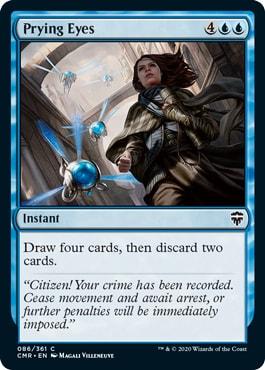 Prying Eyes Commander Legends Spoilers