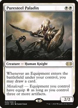 Puresteel Paladin Best MTG Knights
