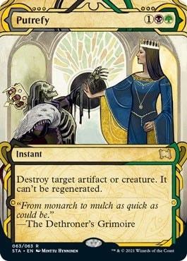 Putrefy Strixhaven Special Cards