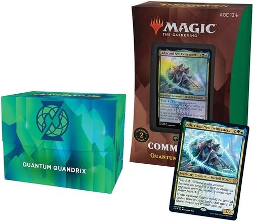 Quantum Quandrix Commander Decklist Precon