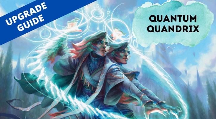 Quantum Quandrix Upgrade Banner