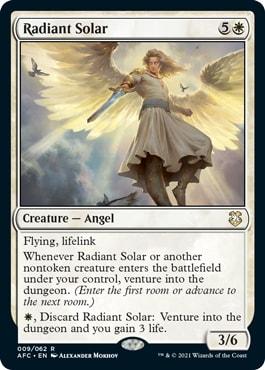 Radiant Solar DND Commander Precons Decklist