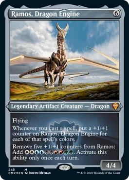 Ramos Dragon Engine Commander Legends Reprints