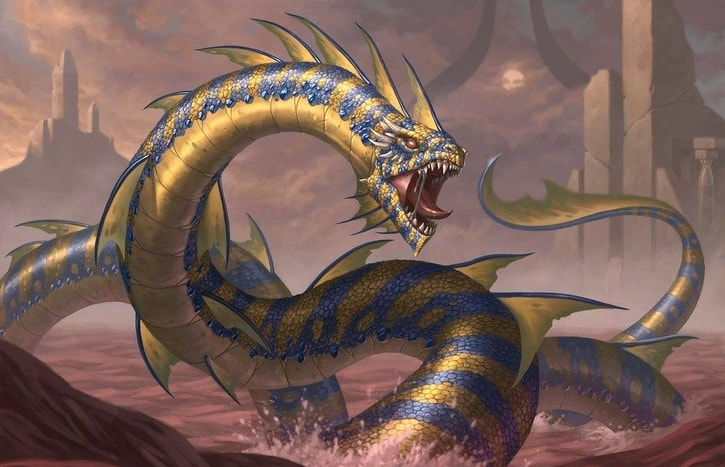 Reap the Tides Upgrade Guide Serpent Tribal