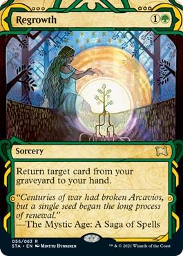 Regrowth Mystical Archive Card List