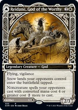 Reidane, God of the Worthy Kaldheim Collector Booster Version