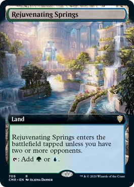 Rejuvenating Springs Commander Legends Collector Booster Contents