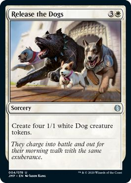 Release the Dogs MTG Commander