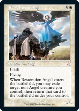 Restoration Angel Timeshifted Card