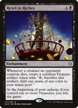Revel in Riches Instant Win MTG