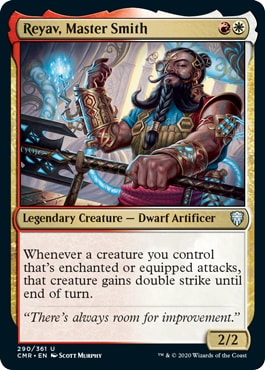 Reyav Master Smith Commander Legends Draft Archetypes
