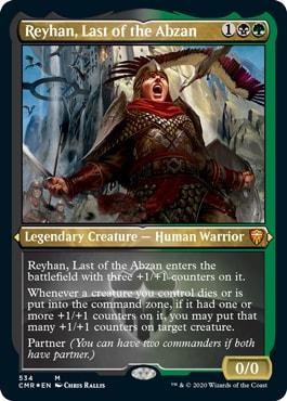Reyhan Last of Abzan Commander Legends All Cards