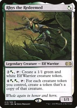 Rhys the Redeemed Elf Tribal in Commander