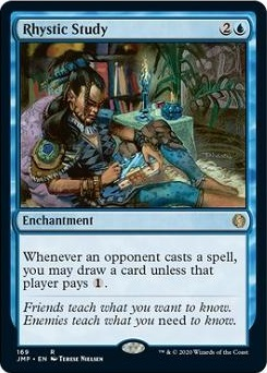 Rhystic Study How to Build Mono Blue Commander