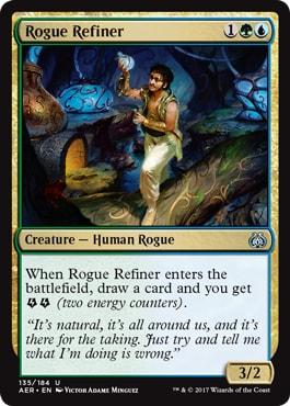 Rogue Refiner Kaladesh Remastered Spoilers