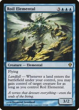 Roil Elemental Best MTG Elementals Cards