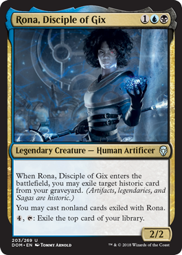 Rona Dominaria Draft Guide