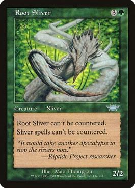 Root Sliver Best Against Counterspells