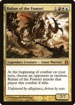 Ruhan of the Fomori White-Blue-Red Commanders