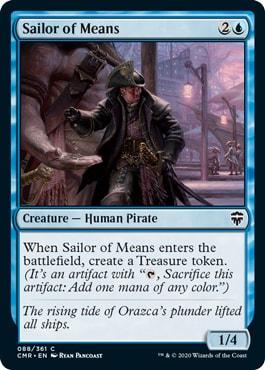 Sailor of Means Commander Legends All Cards