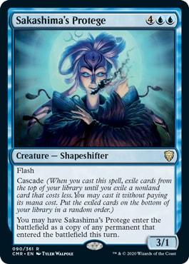 Sakashima's Protege Commander Legends All Cards