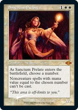 Sanctum Prelate  Best Modern Horizons 2 Cards for Modern