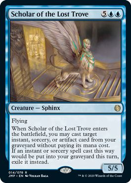 Scholar of the Lost Trove MTG